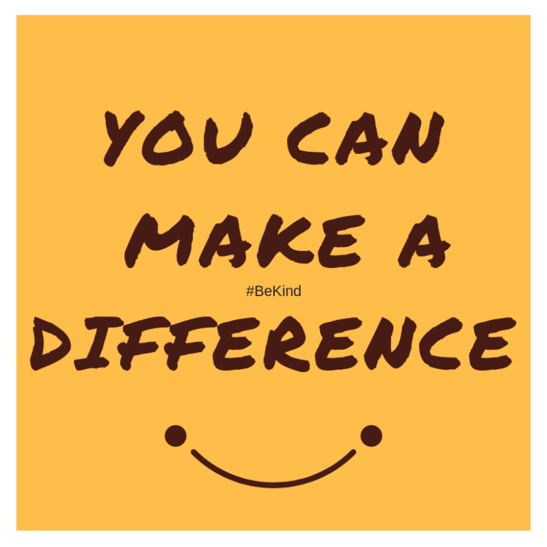 You CAN make a difference. (1)